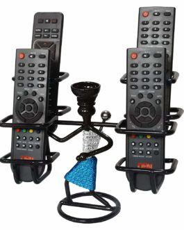 Iron Remote Stand for TV and AC (Black)