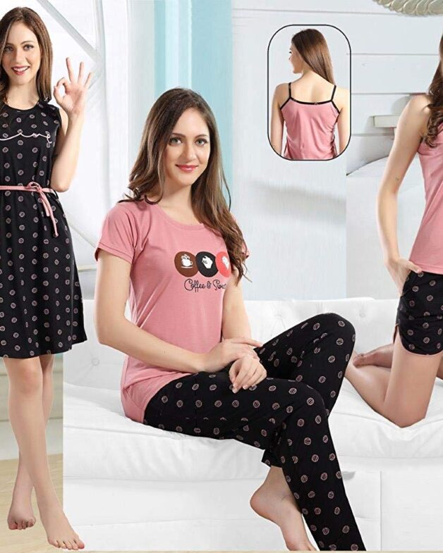 5 PCS Combo Night WEAR Set