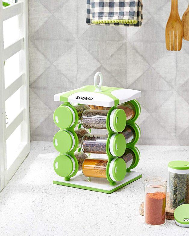 Amazon Brand - Solimo Revolving Spice Rack