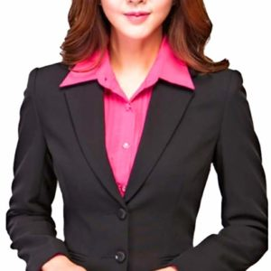 KARF Women's Formal Blazer Black