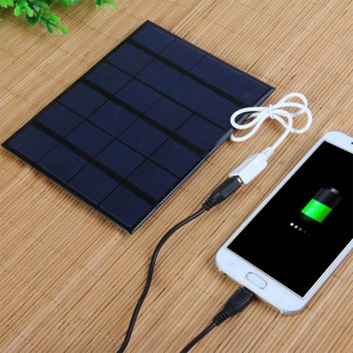 Solar Charger for Mobile black