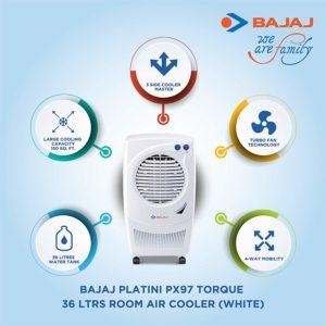 Bajaj Platini PX97 Torque 36 Ltrs Room