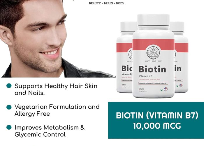 Top 5 Best Beauty Brain Body Biotin Multivitamin in 2020