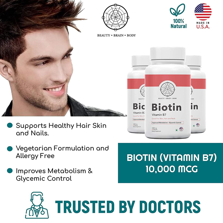 Top 5 Best Beauty Brain Body Biotin Multivitamin in 2020