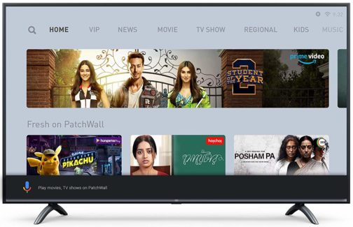 Mi LED TV 4X 138.8 cm (55 Inches) Ultra HD Android