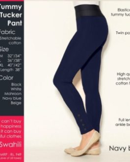 Tummy Tucker Pants Navy Blue