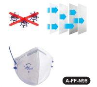 Original Mask for air Anti Pollution,AIRO FRESH Respiratory Mask(white)